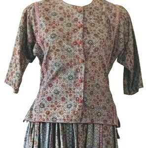 Bandini Skirt Set Size M / L 2 Piece Set Boho